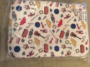 """BNWT New Friends TV Series 10"""" Tablet Case Pouch - Padded Wipe Clean"""