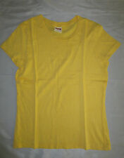 New Juniors Abercrombie T-Shirt 100%  Cotton Yellow Size XlL    # 830