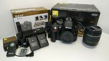 Nikon D5300 + 18-55 VR + Battery Grip + Accessori