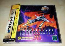 Sega Saturn Terra Cresta 3D SHMUP 2D-Shooter JAPAN NTSC