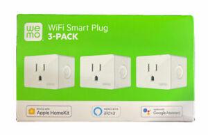 WeMo WiFi SMART PLUG 3-PACK -(EB25)