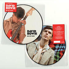 """David Bowie Picture Disc 45RPM Speed Rock 7"""" Singles"""