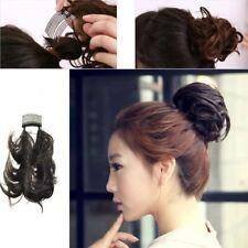 Extensions de cheveux peigne ondulés pour femme