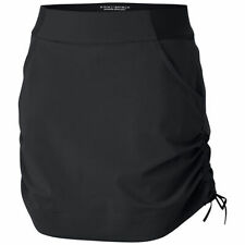 Columbia Womens Active Casual Skort Black Upf50 Water Repellent Size Large L