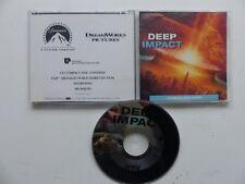 CD / CD ROM  Dossier de presse sonore Deep impact JAMES HORNER