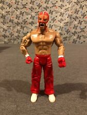 "Rey Mysterio 7"" Jakks Figure 2003 WWE/WWF 619 Red Pants White Shoes/Wristband #2"