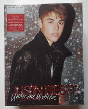 JUSTIN BIEBER - UNDER THE MISTLETOE - COFFRET DELUXE - OCCASION TRÈS BON ÉTAT