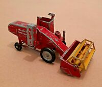 No.M-5 Matchbox Major Series Red and Yellow Massey Ferguson Combine Harvester.