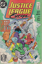 DC comics book JUSTICE LEAGUE EUROPE  # 2 may 1989  [ A5 ]