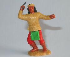Timpo Toys Apache laufend mit Gewehr grünes Hemd rote Hosen