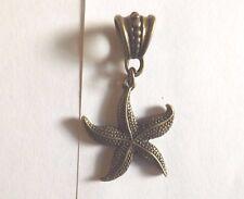 pendentif bronze étoile de mer 28x24mm