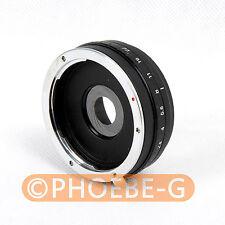 Build in Apertura Canon EOS a lente EF SONY NEX E Mount Adattatore NEX-7 NEX-5 -3