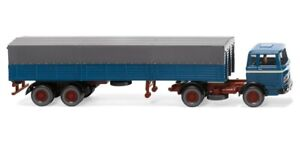 Wiking 051405 - 1/87 Tracteur (MB) - Bleu Azur - Neuf
