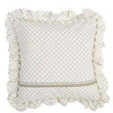 Cojines decorativos de color principal beige de 40 cm x 40 cm para el hogar