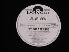 AL WILSON -I've Got A Feeling- LP Polydor Promo Archiv-Copy mint