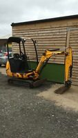 JCB 8016 2011 USED MINI EXCAVATOR