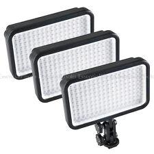 Qualità 3xled170 Fotocamera PANNELLO A LED PORTATILE Luci Video DSLR DV Pellicola intervista