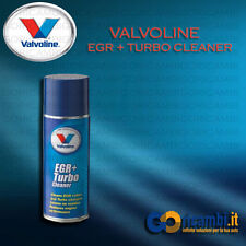 VALVOLINE EGR + TURBO CLEANER SPRAY 400ml - ELIMINA DEPOSITI DA VALVOLA EGR