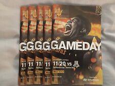 2017 Arizona vs ASU Gameday College Football Program with Game Ticket