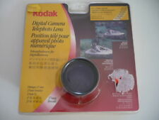 KODAK DIGITAL CAMERA TELE PHOTO LENS (2x) 37 mm Threads Vorsätze Filetages NOS !