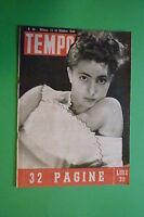 Magazine Revista Tempo N.39/1946 Tratado Noriberga Donna Rachele Mussolini