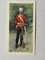TRADE CARD - BRITISH UNIFORMS C19th #17 SOUTH WALES BORDERERS      (UU439)