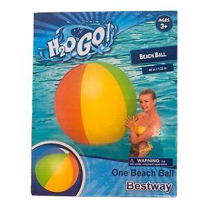"BRAND NEW HUGE 48"" H2O GO! Inflatable Beach Ball"