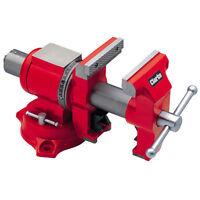 Clarke CMV140 Multi-Purpose Cast Iron Vice 360° swivel Jaws pivot 180° each way