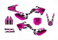 2007 2008 2009 2010 2011 2012 2013 2014 2015 CRF 150R graphics kit #2500 Pink