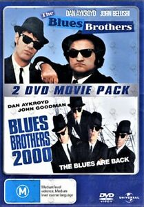 The Blues Brothers (1980)+Blues Brothers 2000 (1998) DVD 2-MOVIES BRAND NEW R4