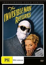 The Invisible Man Returns DVD R4 NEW