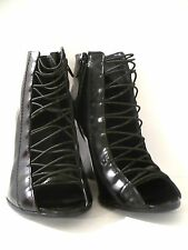 GIVENCHY OPEN TOE LACE UP BOOTS EU 36 US 5 UK 3