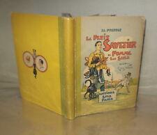 Illustrations de R de la Nézière E.O. Le petit Savetier de pomme sur seule 1935