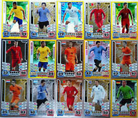 MATCH ATTAX ENGLAND 2014 LIMITED EDITION WORLD CUP BRASIL - FOOTBALL CARDS