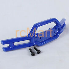 RPM Plastic Front Bumper Blue For Traxxas 1:16 E-Revo EP Short Course RC Parts