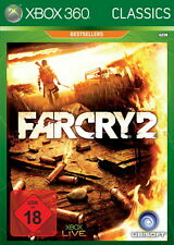 X360/XBOX 360 jeu-Far Cry 2 (Classics) (usk18) (avec neuf dans sa boîte) version 1