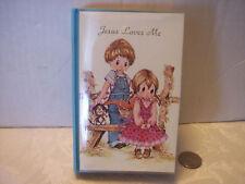 "Vintage Music Box Book ""Jesus Loves Me"" Children Usa"