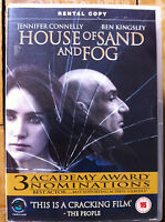 House of Sand and Fog DVD 2003 Drama w/ Jennifer Connelly Rental Version