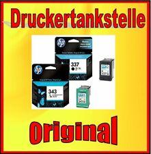 Original HP Nr. 343 337 Sparpaket C9364 C8766 Photosmart 2570 2575 C4180 C4190