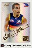2015 AFL Champions Superheroes Refractor Card AS1 Eddie Betts (Adelaide)