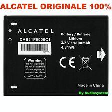 BATTERIA 1300Mah ORIGINALE PER ALCATEL ONE TOUCH POP C2 4032 CAB31P0000C1 OT 918