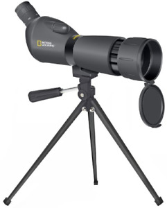 National Geographic 20-60 x 60 Spotting Scope + Tripod, Case & Phone adapter -UK