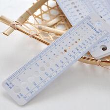 1 X Règle Aiguille à Tricoter Coudre Accessoires Couture Mesure Taille Tricotage