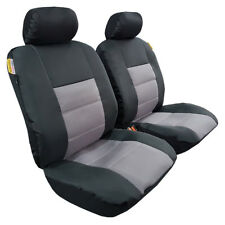 Two Tone Airbag Car Seat Cover, Anti-Slip Dash Mat & Safety Belt Pads for RAV4