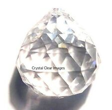 20mm Feng Shui Clear Asfour Crystal Ball Prisms  30% Leaded Wholesale CCI
