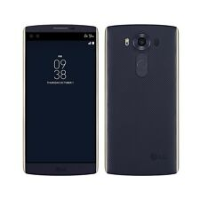 LG Unlocked 5.7'' V10 AT&T H900 64GB 16MP 4G LTE Dual-Front-Camera Phone Blue