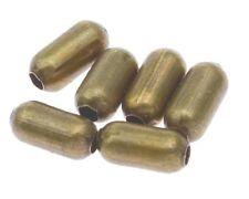 250 Metallperlen Zwischenteile Bronze Röhre 4mm Spacer Schmuck Basteln M296