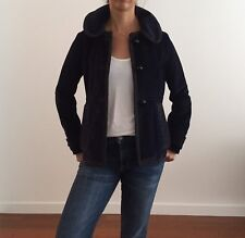 Marc Jacobs navy corduroy jacket w/peter pan collar, size 2