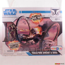 Star Wars The Clone Wars Variant - Hailfire Droid with General Grievous figure