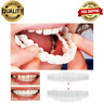 Top And Bottom Cosmetic Veneers Instant Smile Braces Snap On Smile Fake Teeth
